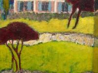 Huis in Lorges Frankrijk 40x50